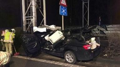 Grave accident sur la E40 à Bruxelles mercredi soir