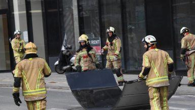 Tempête Dennis : le bilan des pompiers de Bruxelles