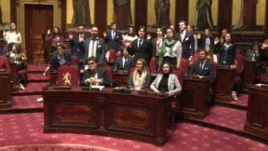 Dans la peau d'un parlementaire : le parlement jeunesse s'installe au Sénat