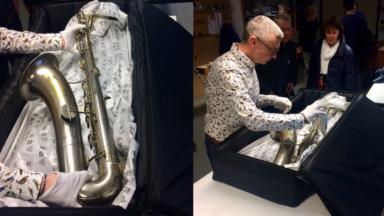 Le Musée des Instruments de musique accueille le saxophone le plus ancien au monde