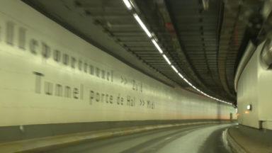 """Le tunnel Porte de Hal parfois fermé suite à """"une trop grande affluence de trafic"""""""