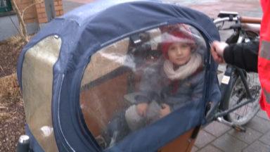 Les familles bruxelloises adoptent de plus en plus le vélo cargo