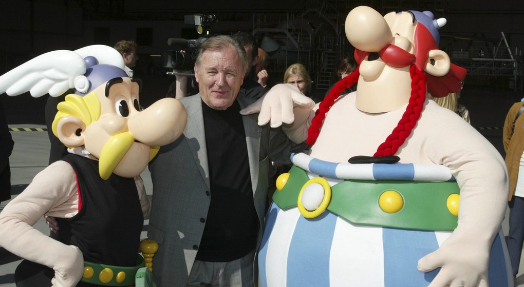 Asterix et Obelix - Uderzo - Archive 2005 Belga François Walschaerts-Yearend