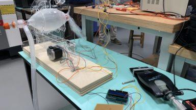 L'UCLouvain présente un nouveau modèle de respirateur