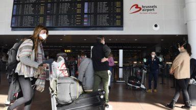 Fin des accès limités aux halls des départs et arrivées à Brussels Airport