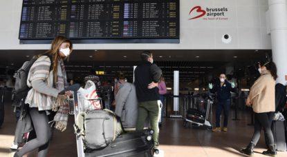 Brussels Airport Coronavirus - Illustration Belga Eric Lalmand