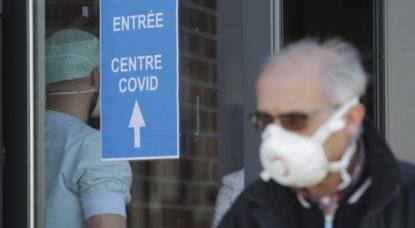 Centre dépistage coronavirus Liège - Illustration Belga Olivier Hoslet