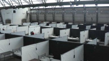Six cas positifs au Covid-19 au centre d'accueil MSF à Tour&Taxis