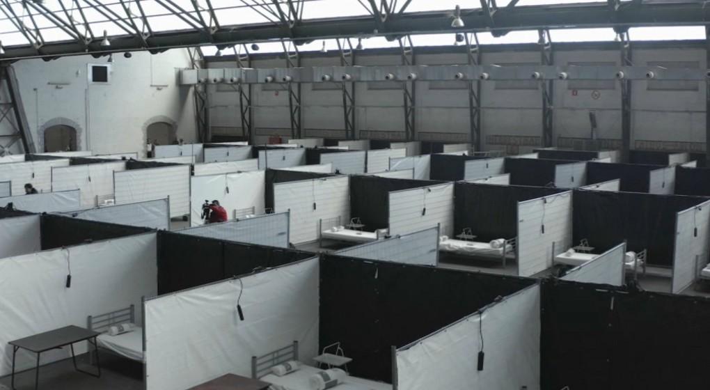 Centre de tri et hébergement Médecins Sans Frontières - Tour et Taxis - Capture BX1