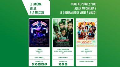 """""""Le cinéma belge à la maison"""" : de nouveaux films belges disponibles sur Internet durant le confinement"""