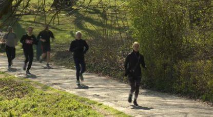 Course à pied - Joggin - Parc de la Woluwe - Capture BX1