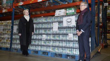Les supermarchés belges font don de 460 000 repas aux banques alimentaires