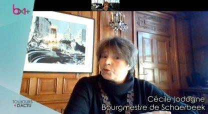 Interview Skype - Cécile Jodogne - Toujours + d'Actu 30032020