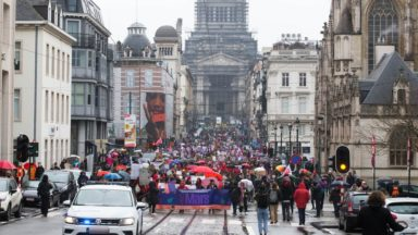 Bruxelles : des actes de vandalisme en marge de la marche pour les droits des femmes