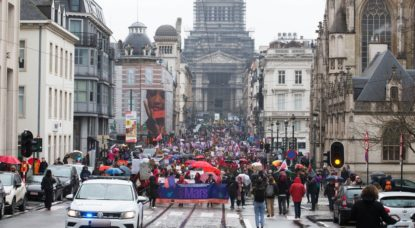 Marche Droits des Femmes 8 mars 2020 - Belga Nicolas Maeterlinck