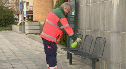 Nettoyage des rues - Désinfection Coronavirus Evere - BX1
