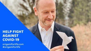 """""""Origami for Life"""" : des origamis pour soutenir l'hôpital Érasme"""