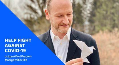 Origami For Life - Charles Kaisin - Hopital Erasme - Facebook