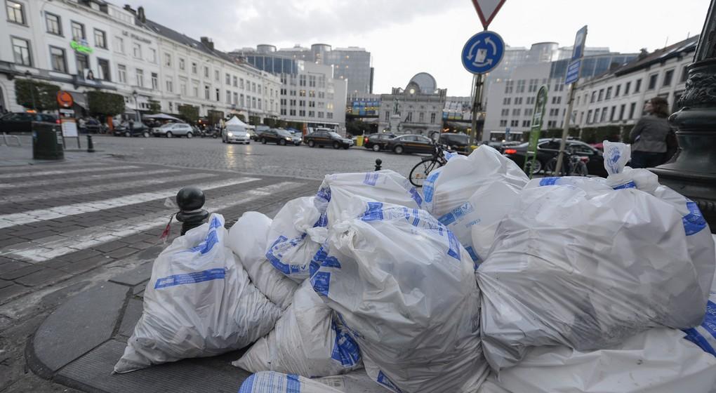 Poubelles déchets Bruxelles Propreté - Belga Nicolas Lambert