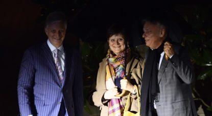 Rencontre Roi - Sabine Laruelle - Patrick Dewael - Belga Eric Lalmand