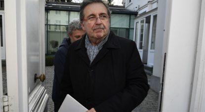 Rudi Vervoort - Conseil des ministres bruxellois - Belga Eric Lalmand