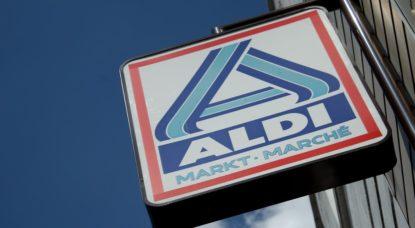 Supermarché Aldi - Belga Virginie Lefour