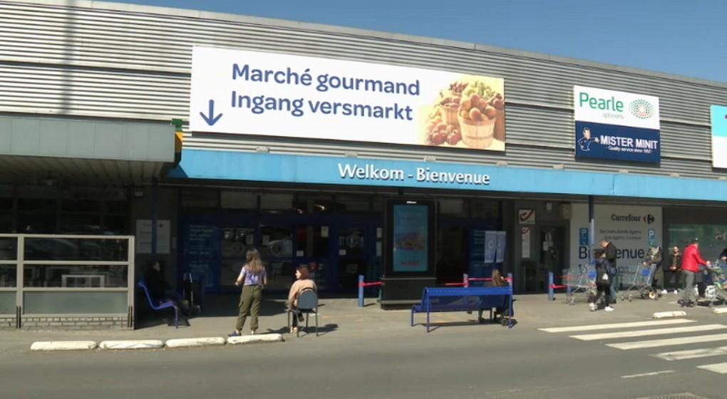 Supermarché Carrefour Berchem-Sainte-Agathe - Capture BX1