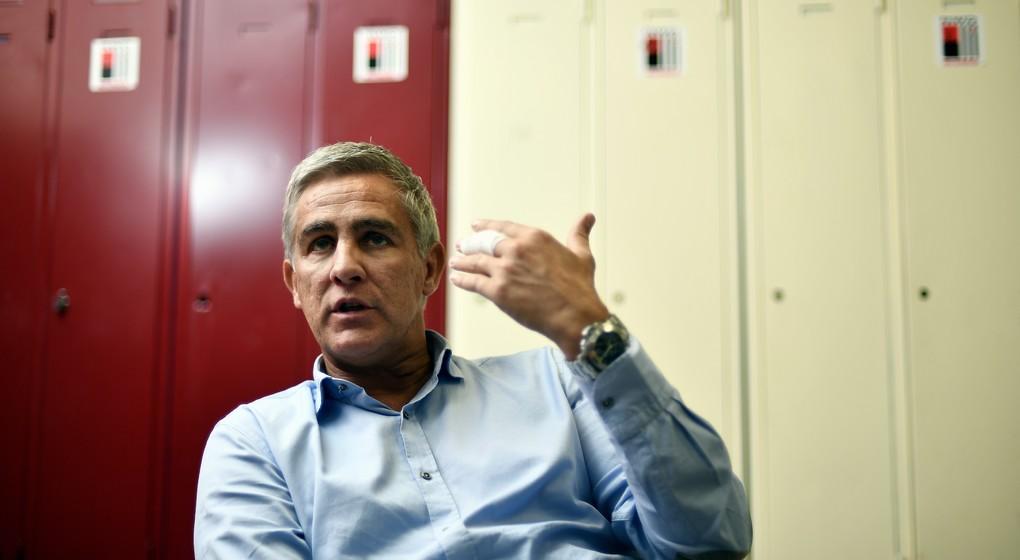 Thierry Dailly - Président RWDM - Belga Eric Lalmand
