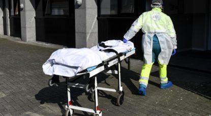 Urgentiste Urgences Coronavirus - Belga Dirk Waem