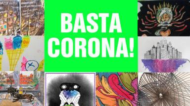 """""""Basta Corona"""" : la bibliothèque d'œuvres citoyennes en temps de confinement"""