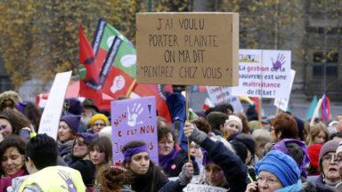 Des milliers de manifestants dans la rue pour les droits des femmes