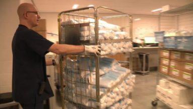 Les hôpitaux bruxellois reçoivent les masques commandés par le fédéral