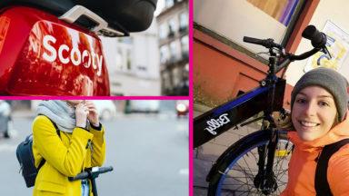 Vélos, scooters, trottinettes : la mobilité partagée au service des métiers essentiels