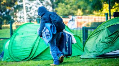 Parc Maximilien : la police fait évacuer les migrants