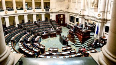 Le gouvernement Wilmès II a obtenu la confiance de la Chambre à 84 voix pour et 44 contre