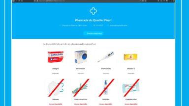 PharmaStock : une plateforme pour faciliter la gestion des pharmacies en temps de crise