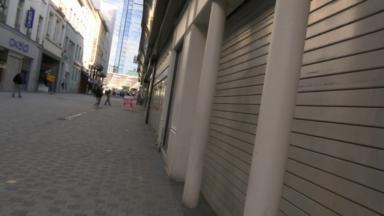 Coronavirus : premier weekend de fermeture pour les commerces bruxellois