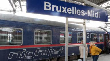 Le train de nuit entre Bruxelles et Vienne suspendu jusqu'à fin juin