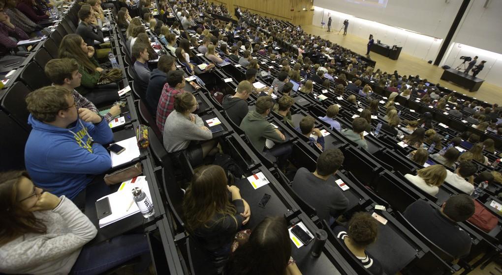 Auditoire Université UGent Belga Nicolas Maeterlinck
