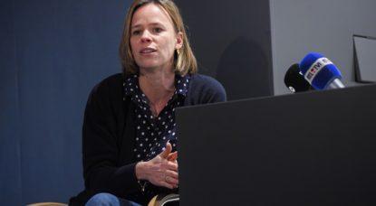 Caroline Désir - Ministre de l'éducation Fédération Wallonie-Bruxelles - Belga Laurie Dieffembacq