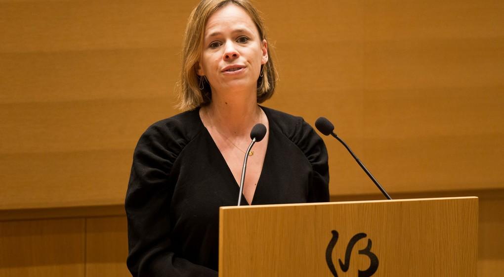 Caroline Désir - Ministre de l'Education Fédération Wallonie-Bruxelles - Belga Nicolas maeterlinck