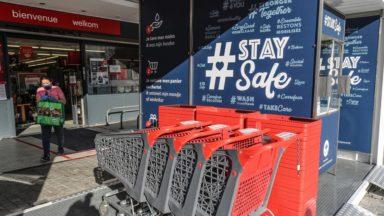 Etterbeek : Carrefour installe une unité mobile de désinfection sur la place Jourdan