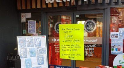 Carrefour Europe grève - Capture bx1