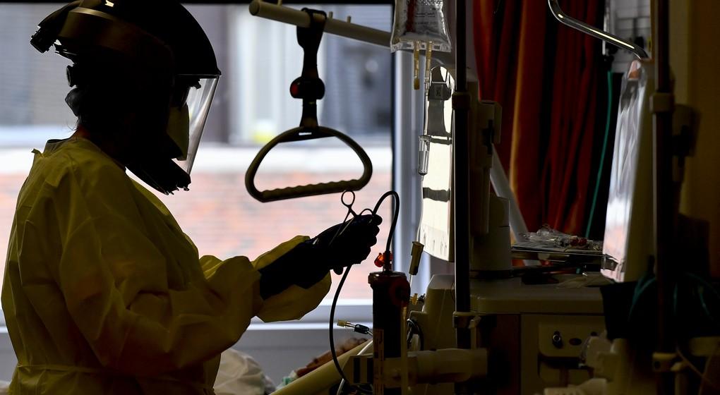 Chambre Hôpital Médecin Coronavirus - Belga Dirk Waem
