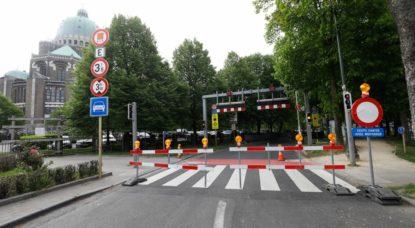 Chantier travaux Tunnel Léopold II Fermé - Belga Thierry Roge