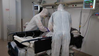 Coronavirus : la pression reste forte dans les hôpitaux bruxellois
