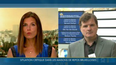 Maisons de repos : des situations critiques en Région bruxelloise