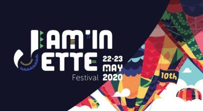 Festival Jam'in Jette 2020 - Logo