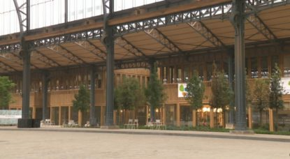 Gare Maritime rénovée - Tour et Taxis - Capture BX1