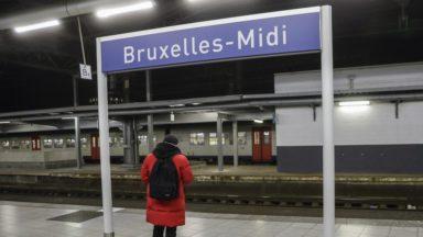 La gare de Bruxelles-Midi restera ouverte la nuit